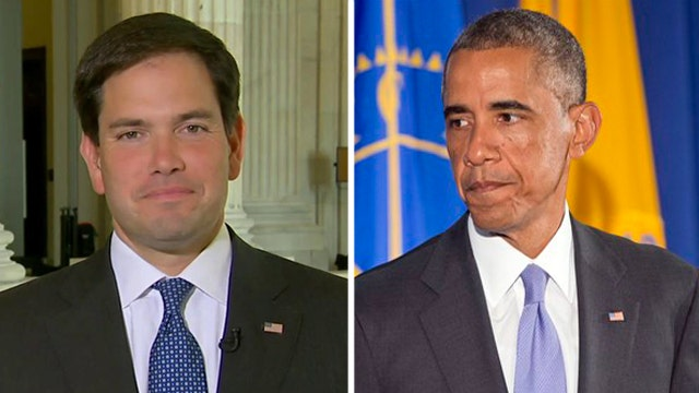 Sen. Rubio says Obama not being honest about ISIS fight
