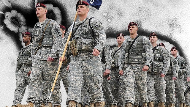 Can US military win war against Ebola virus?