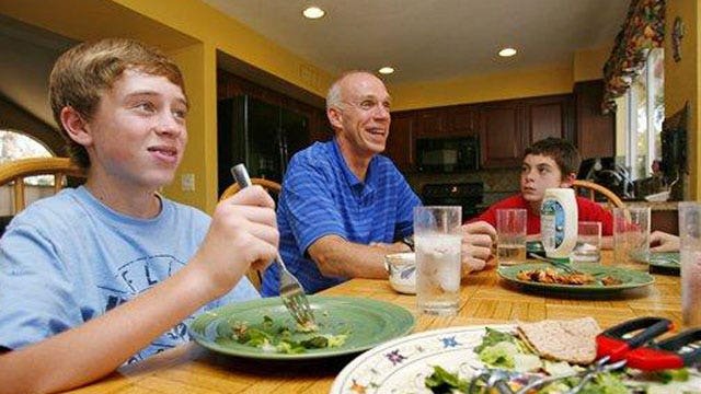 Time to bid farewell to family dinners?