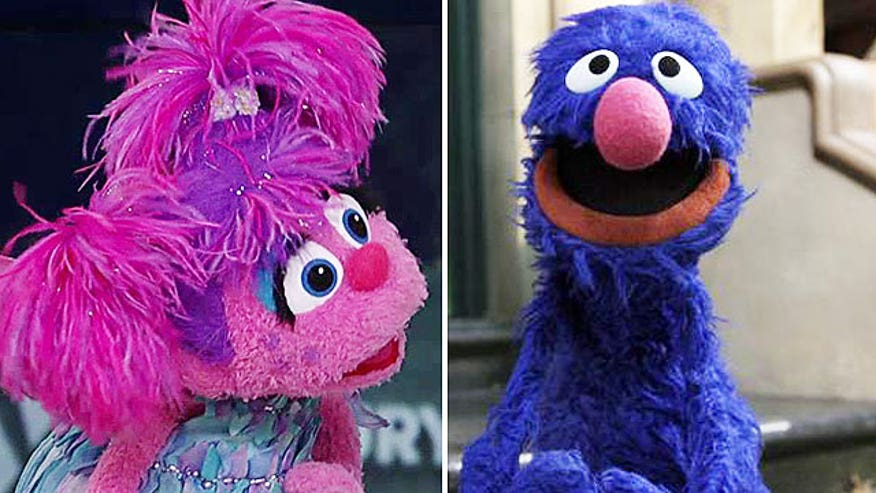 Grover and Abby crash 'Fox & Friends'