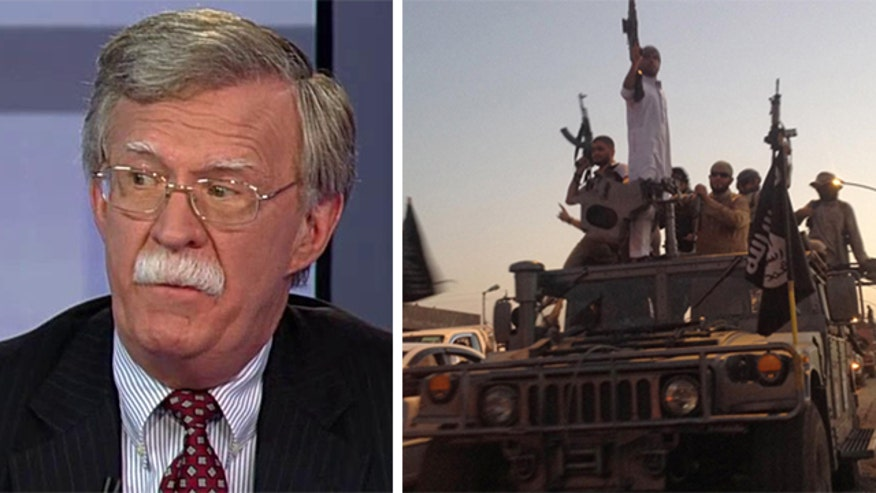 Amb. John Bolton: Congress' approval of arming moderare Syrian rebels 'an insignificant vote,' Obama still doesn't have comprehensive strategy