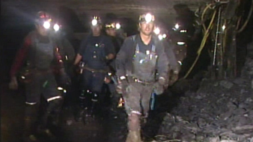 August, 2007:  Raw video from inside Utah coal mine as efforts are made to find trapped miners