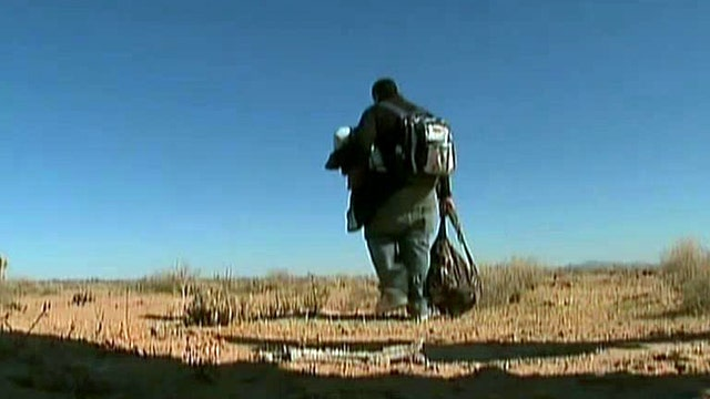 Can terrorists easily cross our border?