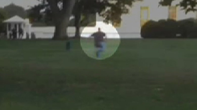 First White House Fence Jumper White House Fence-jumper