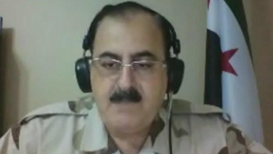 Eric Shawn interviews Free Syrian Army Gen. Salim Idris