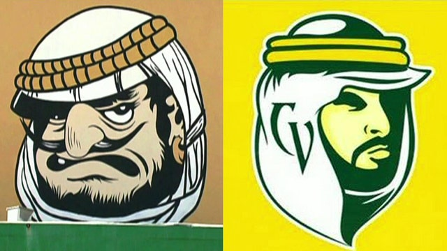 High school alters Arab mascot after complaints