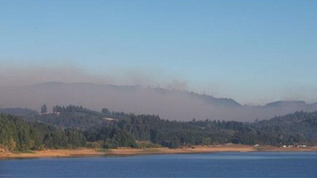 Evacuations ordered as wildfire nears Portland, OR