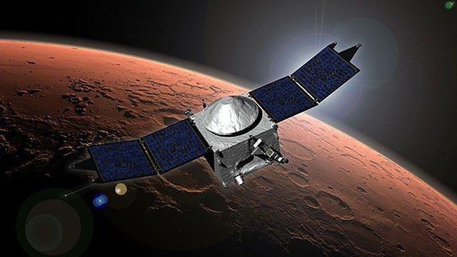NASA's Maven enters Mars orbit; will explore from space