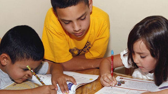 Growing number of schools ban homework to lessen stress