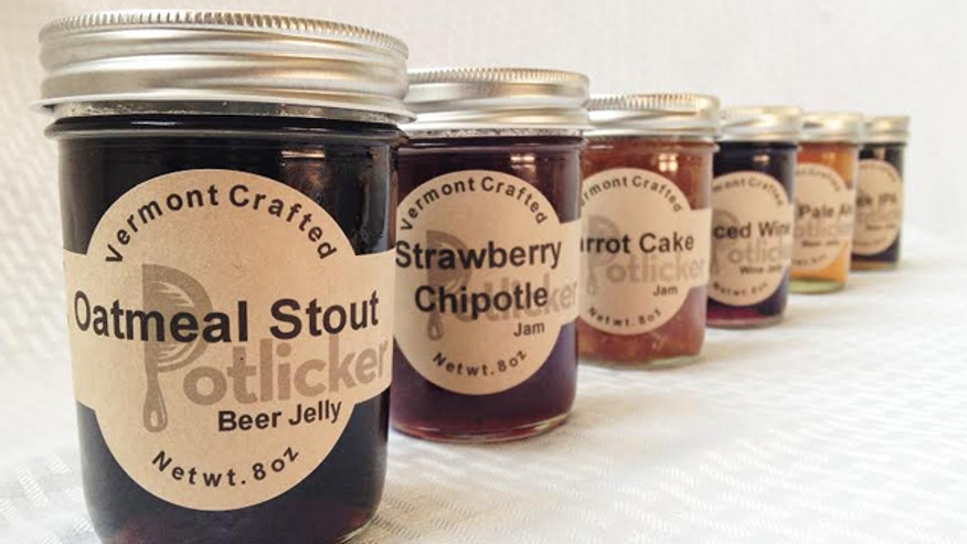 Jelly made from beer is the latest custom spread