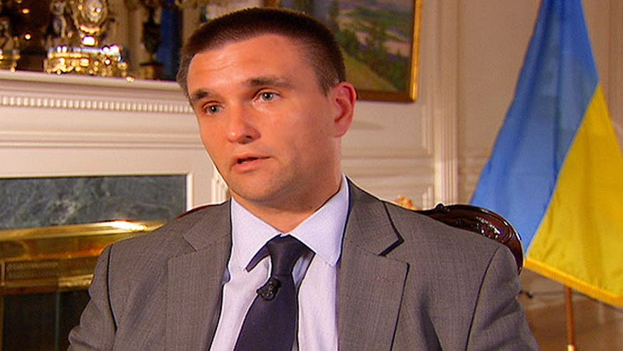 Raw video: Fox News' Eric Shawn sits down with Pavlo Klimkin