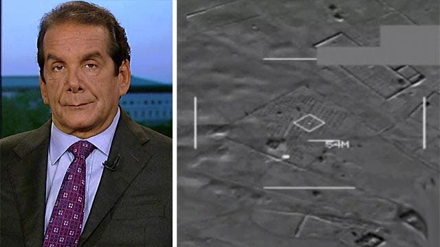 Krauthammer: Airstrikes in Syria 'a containment strategy'