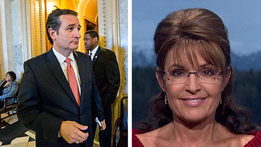 Sarah Palin on Sen. Cruz's Senate floor speech