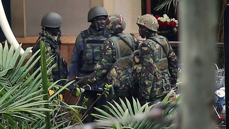 Kenyan government claims site is secure, most hostages freed