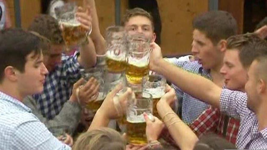Beer, food, music, dancing and games: it must be Oktoberfest.