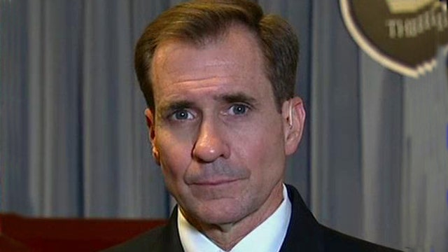 One-on-one with Rear Admiral John Kirby