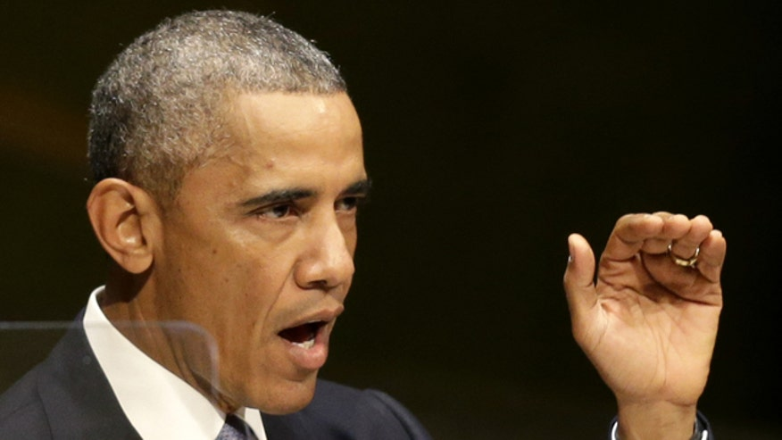 Obama urges global fight against ISIS in U.N. speech