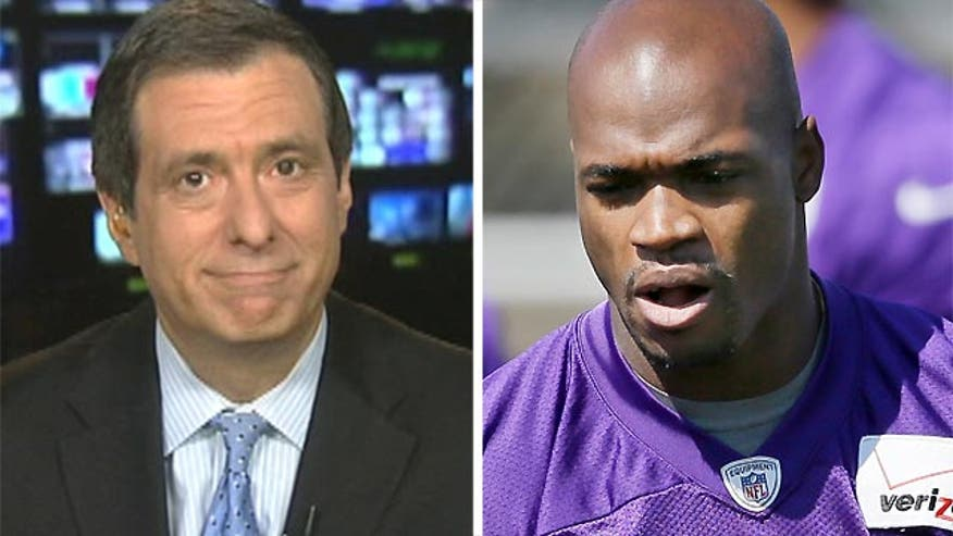 'MediaBuzz' host discusses media reaction to Adrian Peterson suspension