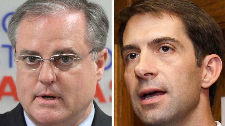 John Roberts reports on close race between Mark Pryor and challenger Tom Cotton
