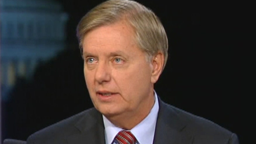 Sen. Lindsay Graham, R-S.C., says that Hillary Clinton's support for Obamacare could be her undoing in 2016 when the program falls apart.