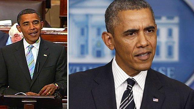President Obama vs. Senator Obama's take on terror