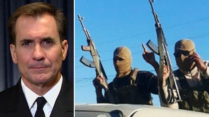 Rear Adm. John Kirby on strategies in Syria, Iraq