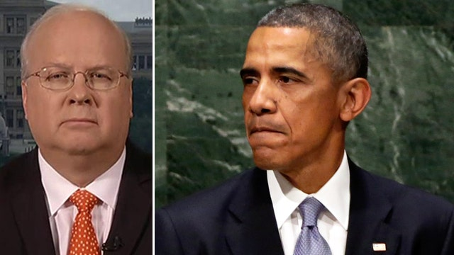 Rove: Obama's UN speech at odds with past words, actions