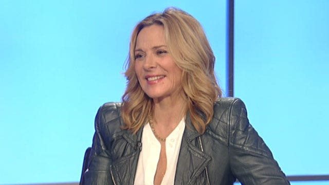 Kim Cattrall bringing sexy back to menopause