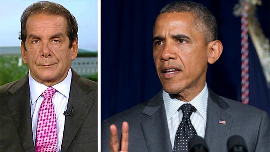"Syndicated columnist Charles Krauthammer said Friday on ""Special Report with Bret Baier"" that while President Obama might have the authority to act unilaterally on strikes against ISIS in Iraq and Iraq, he still should seek approval from Congress."
