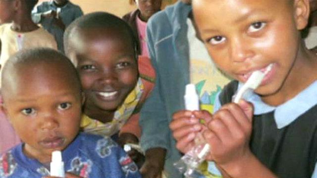 Sisters start global initiative to help kids' dental health