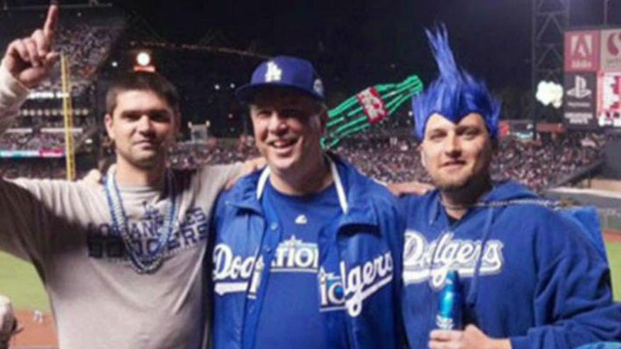 Fatal stabbing of Dodgers fan by Giants fan