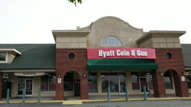 Credit card firm cuts off gun store for selling guns?