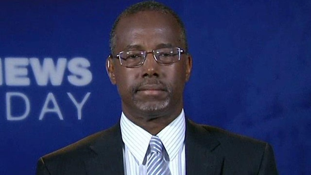 Dr. Ben Carson reacts to Eric Holder's resignation