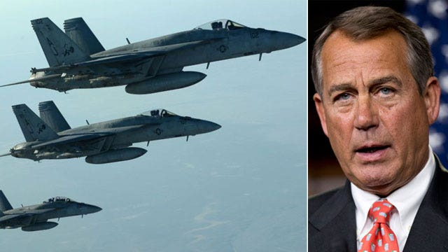 Pressure mounts for Congress to vote on strikes against ISIS