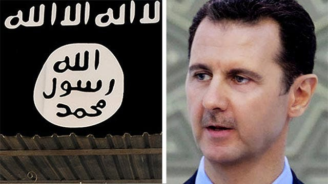 How the ISIS strategy may help Bashar al-Assad