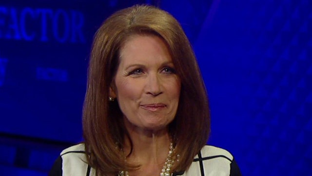 Michele Bachmann enters the 'No Spin Zone'