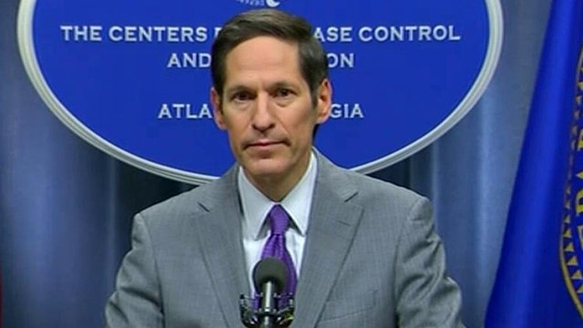 CDC press conference on first Ebola case diagnosed in US