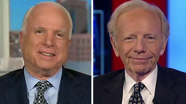 Sen. McCain, Joe Lieberman sound off on Obama's ISIS plan
