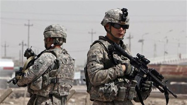 Controversy over poll asking troops about Iraq forces