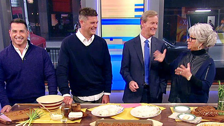 Celebrity chefs on 'Fox & Friends'