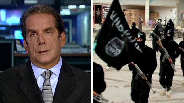 Charles Krauthammer on major opinion shift in ISIS polling