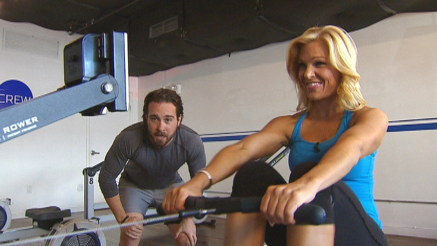 What used to be an old dust collector at the gym is quickly becoming one of the hottest new trends in fitness. Fox News' Anna Kooiman checks out New York City's first indoor rowing studio, Brooklyn Crew, to see what's getting athletes hooked