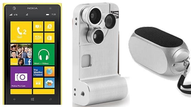 Gadget demo: Nokia Lumia 1020, Qube 2 and the iZZi Orbit Pro