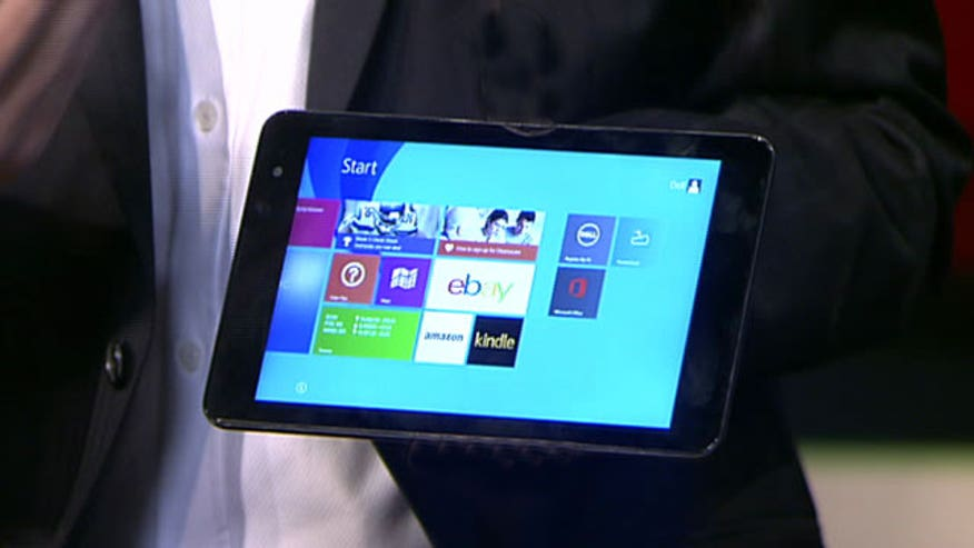 Dell's Vice President Neil Hand shows off the tech giant's new designs