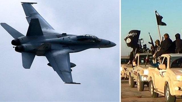 ISIS militants change tactics amid airstrikes