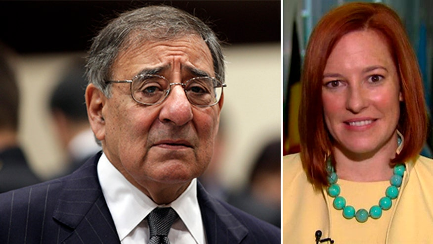 Spokeswoman Jen Psaki reacts to former Defense secretary slamming Obama's troop withdrawal