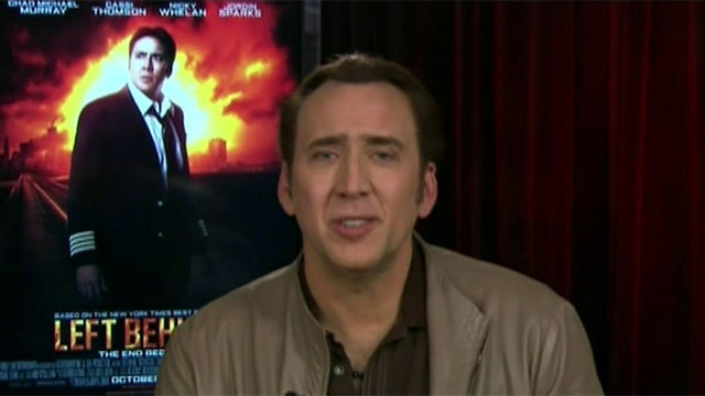 Nicolas Cage stars in new apocalyptic-thriller 'Left Behind'