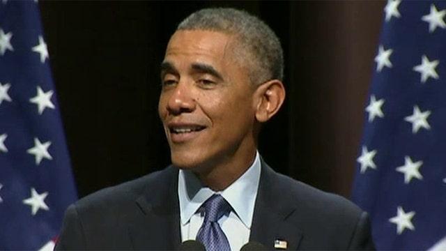 Obama's swipe at Fox
