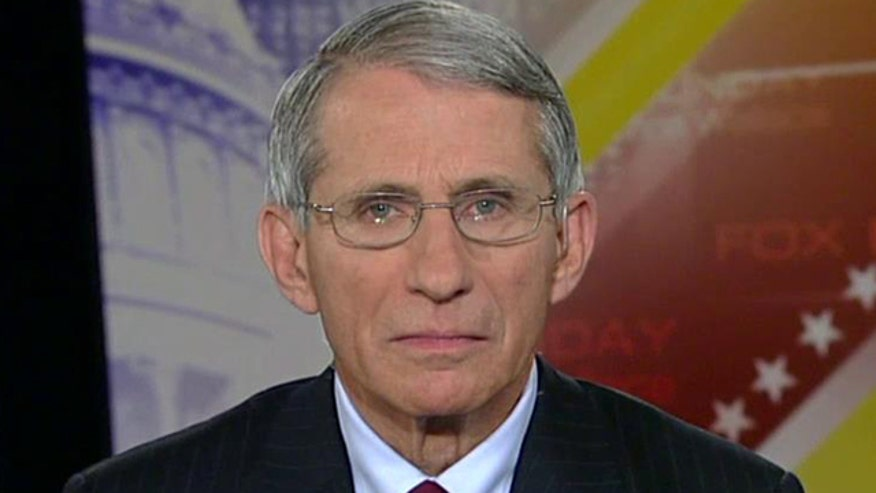 Dr. Anthony Fauci, head of the National Institute of Allergy and Infectious Diseases, weighs in