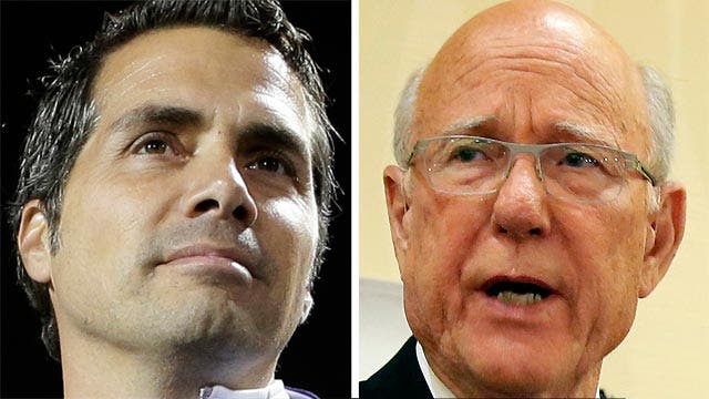 Senate candidate Greg Orman leading over GOP rival